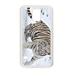 The Tiger In The Snow Hight Quality Plastic Case for Samsung Galaxy S5