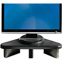Data Accessories Company DCC02184 Corner Monitor Stand, Adjust,12.75 in. x 20.25 in. x 2-3-64 in., Black