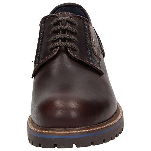 Sioux , Chaussures de ville à lacets pour homme marron marron