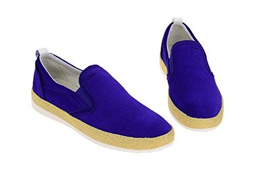 Geox D724ea 00022c8019 - Mocasines de Piel para mujer Azul