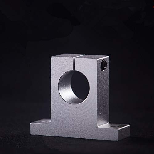 Ochoos 2 pcs//lot SK8 SH8A 8mm Linear Shaft Support 8mm Linear Rail Shaft Support CNC Parts