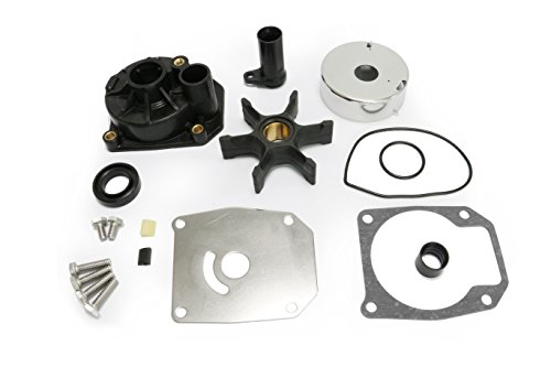 Full Power Plus 60HP 65HP 70HP 75HP Evinrude Johnson Water Pump Rebuild Kit Replacement with Housing Key 432955 OMC Sierra 18-3389