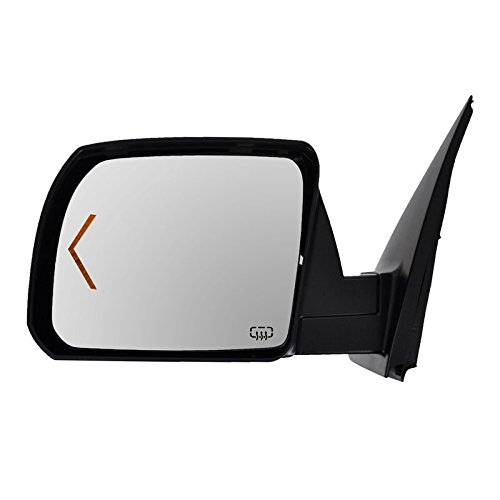Power Heated Signal Side View Mirror w/Chrome Cap Driver Left LH for ()