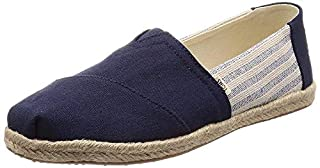 TOMS Women's Alpargata on Rope Navy Ivy League Stripes On Rope 6 B US (B07FVY92CF)   Amazon price tracker / tracking, Amazon price history charts, Amazon price watches, Amazon price drop alerts
