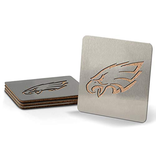 NFL Philadelphia Eagles Boaster Stainless Steel Coaster Set of 4