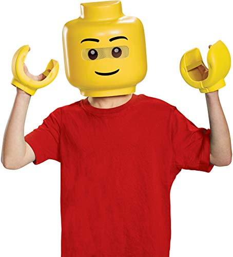 Disguise Lego Iconic & Hands Child Costume Kit, One Size -