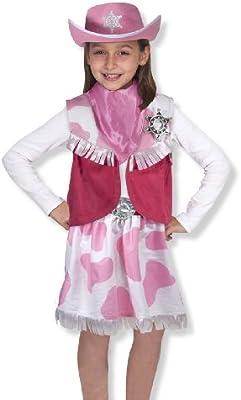Melissa & Doug 14272 - Disfraz de vaquera: Amazon.es: Juguetes y ...