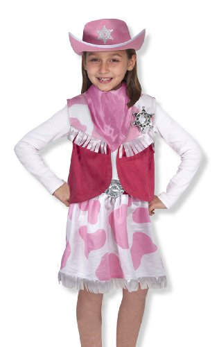 Dress Play Cowgirl - Melissa & Doug - 14272 - Cowgirl Role Play Set