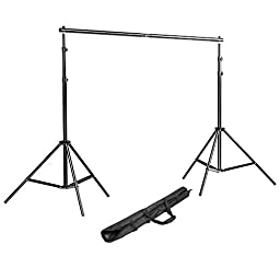 Neewer® Background Stand Backdrop Support System Kit 7 Feet/200CM by 7 Feet/200 CM Wide with Portable Carrying Bag for Video, Portrait, and Product Photography