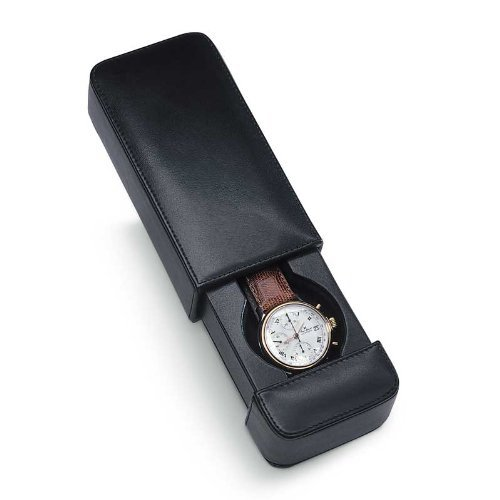 Venlo Travel Watch Case Italian Leather Milano 1