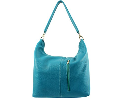Another Woman Chloly Skin Turquoise for Handbag Foncé 5IHw6