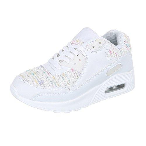 Ital-Design - Zapatillas para mujer Blanco - blanco