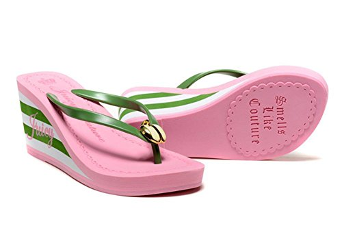 282f446cb97f91 Maybest Ladies Summer Platform Wedge Beach Flip Flop Toe High Heel Thong  Sandals Walking Shoes - Buy Online in KSA. Apparel products in Saudi Arabia.