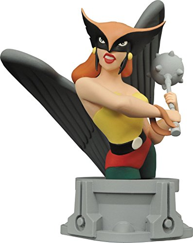 (Diamond Select Toys Justice League Animated Series: Hawkgirl Resin Bust Action)
