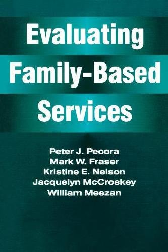 Evaluating Family-Based Services (Modern Applications of Social Work)