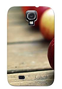 Tough Galaxy TcPaaLf1048QlEPL Case Cover/ Case For Galaxy S4(nature Fruits Apples )