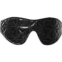 Shopantic(TM) One Waterproof Pu Leather Diamond Design Blindfold Se xEye Mask Flirt Toys For Couples Exotic Se xAdult Games