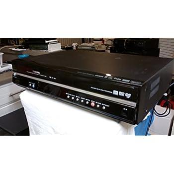 TOSHIBA D-VR600KU DVD Video Recorder & VCR Video Cassette Recorder Combo, DVD/