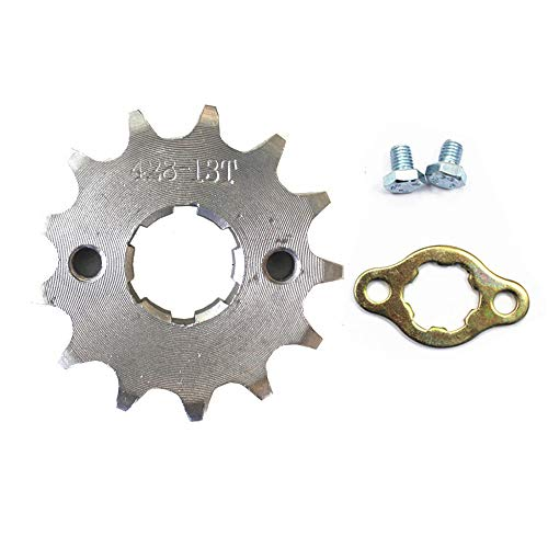 mm 428 Chain Front Sprocket Cog Fit for 110cc 125cc 140cc Motorcycle ATV Dirt Pit Bike Thumpstar ()