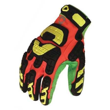 Ironclad LPI-CC5-04-L Low Profile Impact Closed Cuff Cut 5 Gloves, Large