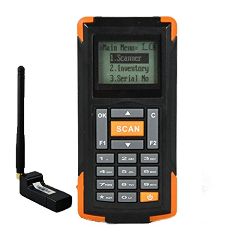 Mini Barcode Scanner Portable Warehouse Data Collector Rugged Wireless Handheld Inventory Barcode Reader