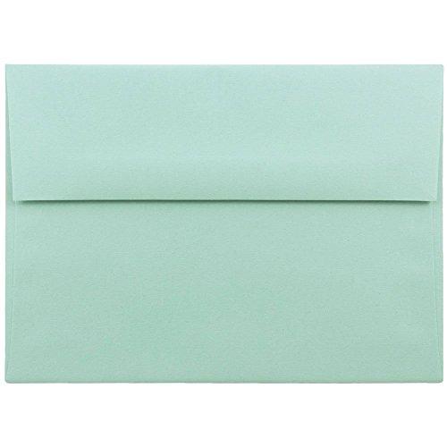 light blue 5x7 envelopes - 4