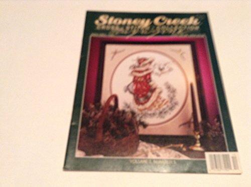 Stoney Creek Collection Magazine - December 1991 Stoney Creek Cross Stitch Collection Magazine