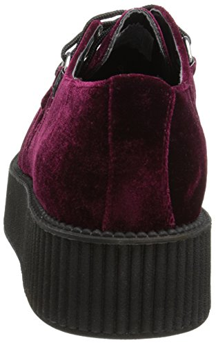Scarpe Creeper U Velvet Donna T Gypsy Metallic Red K w4PRqUUx0