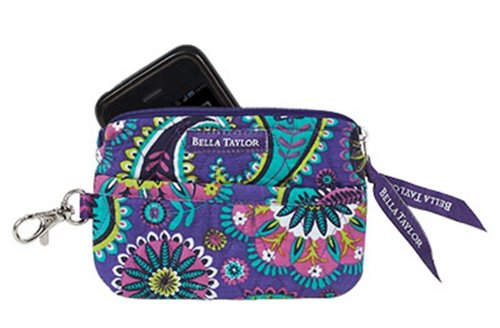 (Bella Taylor Paisley Punch Quilted Gadget Pouch)