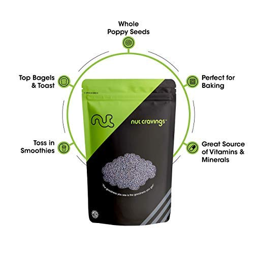 Nut Cravings - Whole Blue England Poppy Seeds (3 Pounds) - Country of Origin United Kingdom - 48 Ounce by Nut Cravings (Image #3)