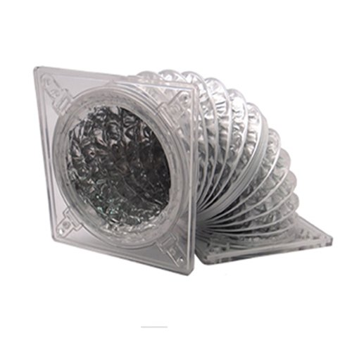 Akust 80mm 90mm Air Ducting Thermalhood Case Fan Adapter Transparent