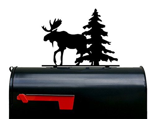 Moose Mailbox Topper / Plaque / Sign by NewnanMetalWorks