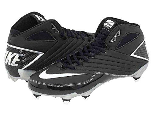 Nike Super Fart D 3/4 Mens Avtagbara Fotbolls Klotsar - Svart
