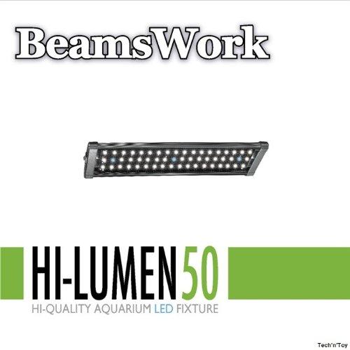 "BeamsWork 18""-22"" Hi Lumen LED Aquarium Light Fixture 50 33x0.5W"