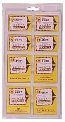 Scott or Prinz VALUE PACK BLACK Stamp Mounts SCOTT # 966B -- 320 MOUNTS