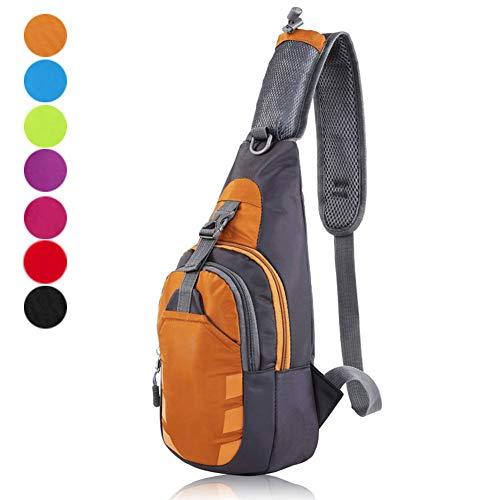 Azul Crewell Azul Bolso al Mujer Naranja para Hombro SOBpXqOw