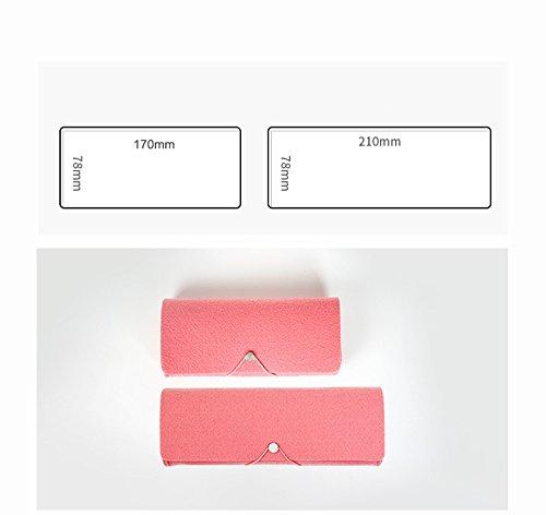 Bleistifte koreanische einfache Mädchen große Kapazität Bleistift Fall Tasche / kreative Bleistift Box / kleine frische niedliche Studenten Schreibwaren ( Farbe : Pink , größe : 21*7.8cm )