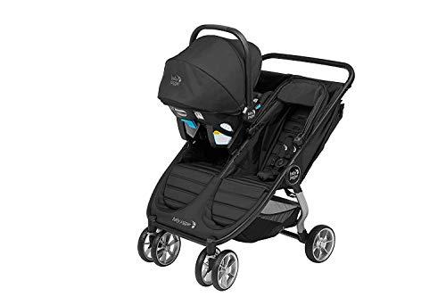 41Bms1Yt7GL - Baby Jogger City Mini 2 Double Stroller, Slate