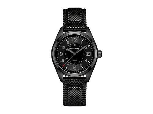 Hamilton Khaki Field Quartz Movement Black Dial Men's Watch H68401735 (Lady Hamilton Watch)