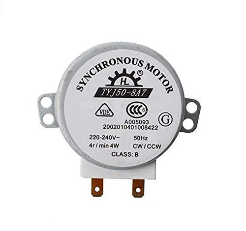 JER Micro Motor Sincronizado para Horno Microondas AC 220-240V 4W 4RPM