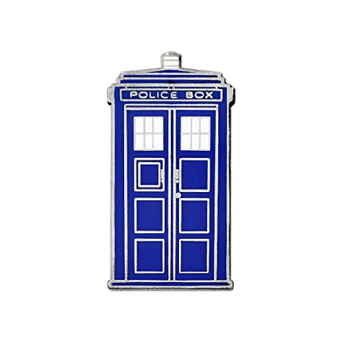 Apex Imports Tardis Whovian Retired Enamel Lapel Pin 1