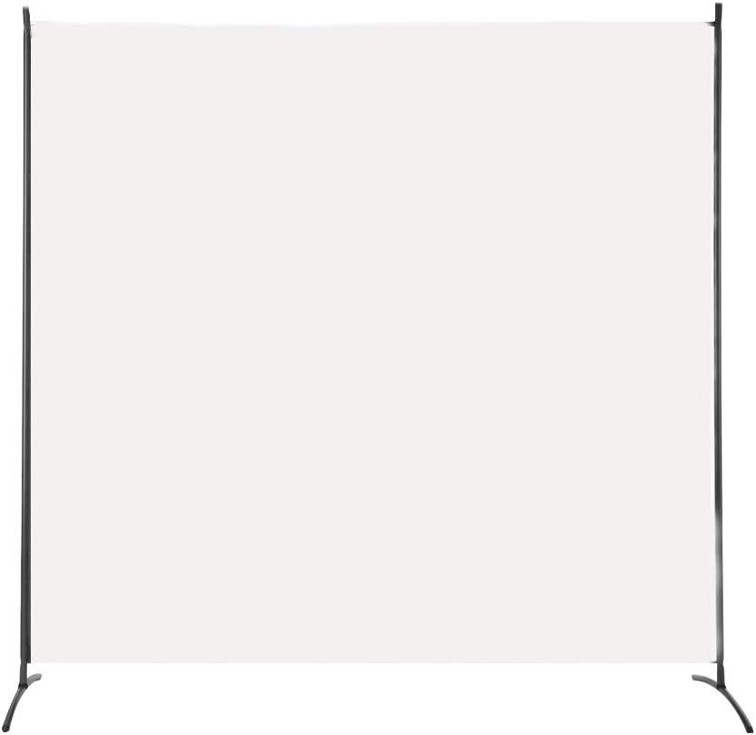 Antracite, 3 Pannelli - 260x180cm Pareti Divisorie Balcone Divisori per Privacy Uffici LARS360 Paraventi Schermo Divisorio Paravento Parete Pieghevole Divisori per Ambienti