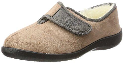 Fargeot Donna Totie Pantofole beige 40 7510360 Beige qSZOrxwq