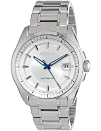 """Citizen Men's NB0040-58A """"The Signature Collection Grand Classic"""" Stainless Steel Automatic Watch"""