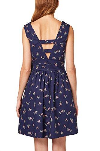 Damen 400 Kleid Navy Mehrfarbig ESPRIT YOPqP