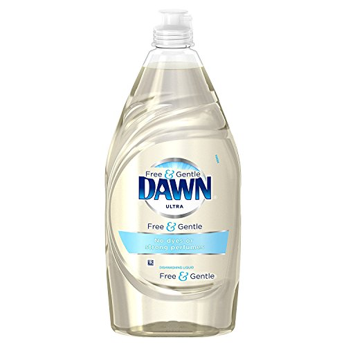 2 Pk. Dawn Free & Gentle Dishwashing Liquid Dish Soap, 18 FL Oz.