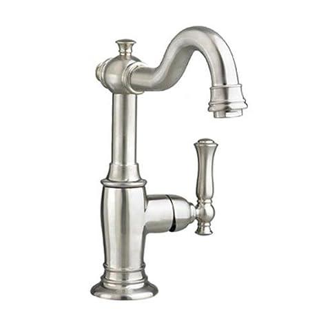 Satin Nickel 7440101.295 American Standard 7440.101.295 Quentin Monoblock Lavatory Faucet
