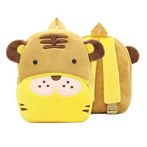 Netter Tiger Kleinkind-Rucksack Kindertasche Tierkarikatur Kleine Reisetasche für Baby Girl Boy 2-4 Jahre alt Weihnachtsgeschenk Geburtstagsgeschenk A
