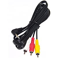 OEM Sony Audio Video Cord Supplied With DCRTRV22, DCR-TRV22, DSCW620, DSC-W620, HDRPJ270E, HDR-PJ270E, KD55X8505A, KD-55X8505A