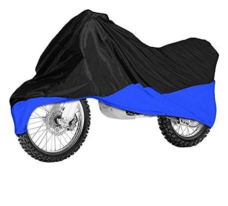 Amazon.com: Black/blue Motorcycle Cover For Kawasaki Ninja ...